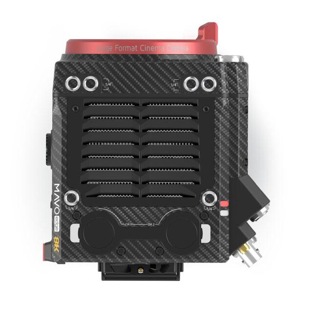 يتميز MAVO Edge بمقاسين XLR متوازنين في المقابس ، مع مقدمات فائقة الهدوء.