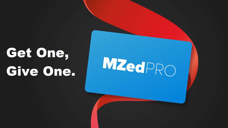 Oferta especial de MZed - obtén una membresía Pro y regala otra