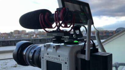 OCTOPUS CAMERA Update - Colour Sensor Sample Footage and Digital USB Audio Capture