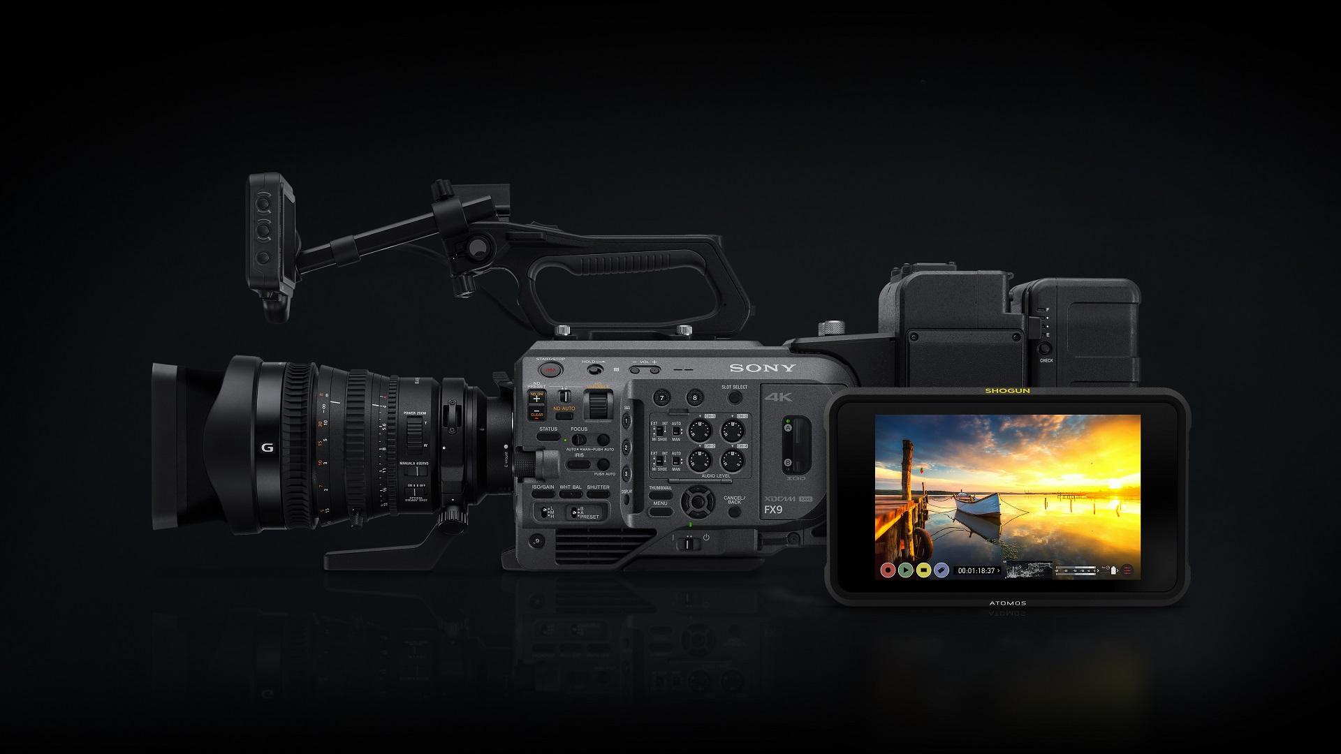 El Atomos Shogun 7 admitirá grabación ProRes RAW desde la Sony FX9
