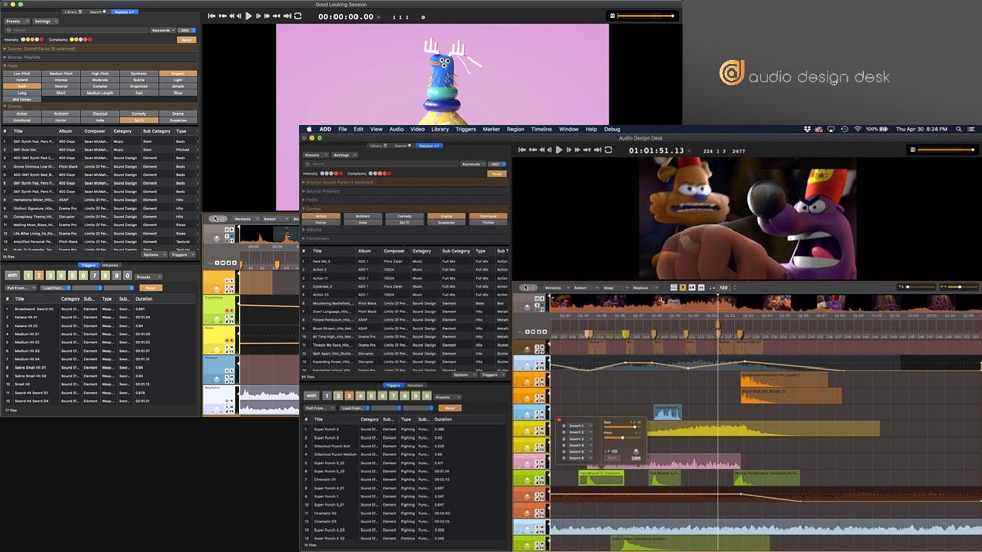 Audio Design Desk – Lanzaron una versión gratuita y la actualización V1.2