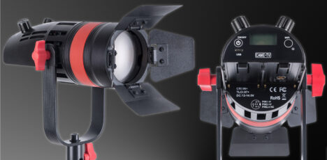 CAME-TV Boltzen Q-55S Mini Bi-Color Fresnel LED Introduced