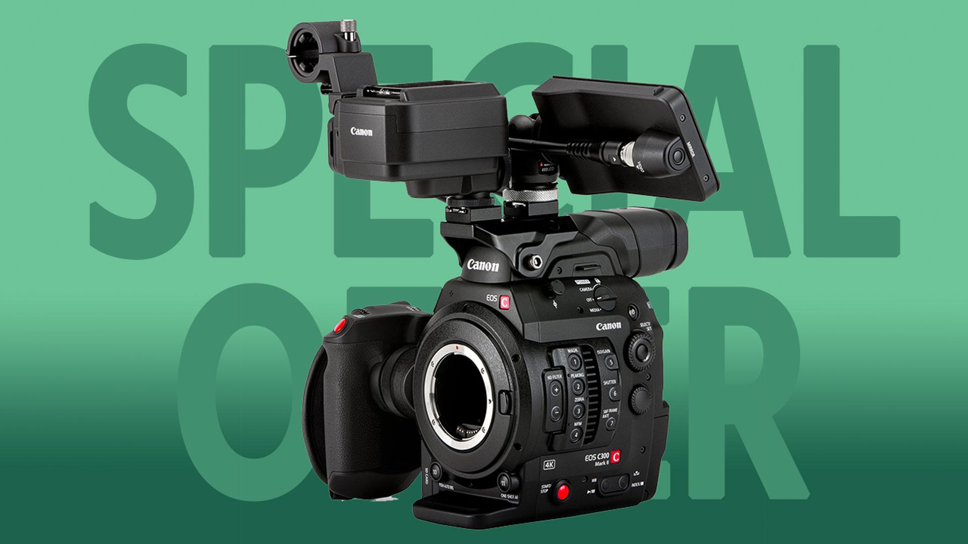 Rebaja adicional de $ 500 en la Canon EOS C300 Mark II - Ahora a $ 7.499