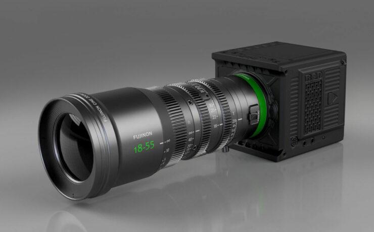 Duclos RF Mount Conversion for FUJINON MK Lenses for RED Komodo