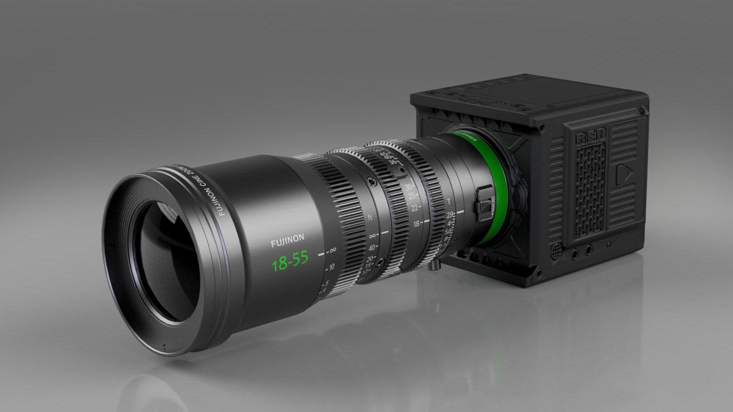 Duclos lanzó la conversión de montura RF para los FUJINON MK en cámaras RED Komodo