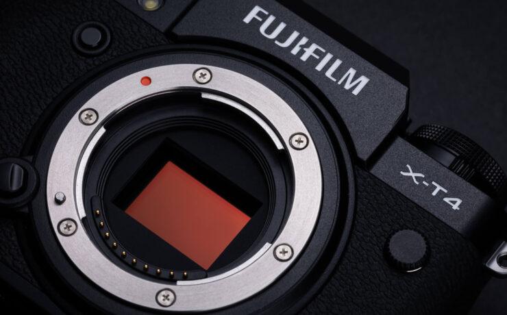 FUJIFILM X-T4 is Now Shipping
