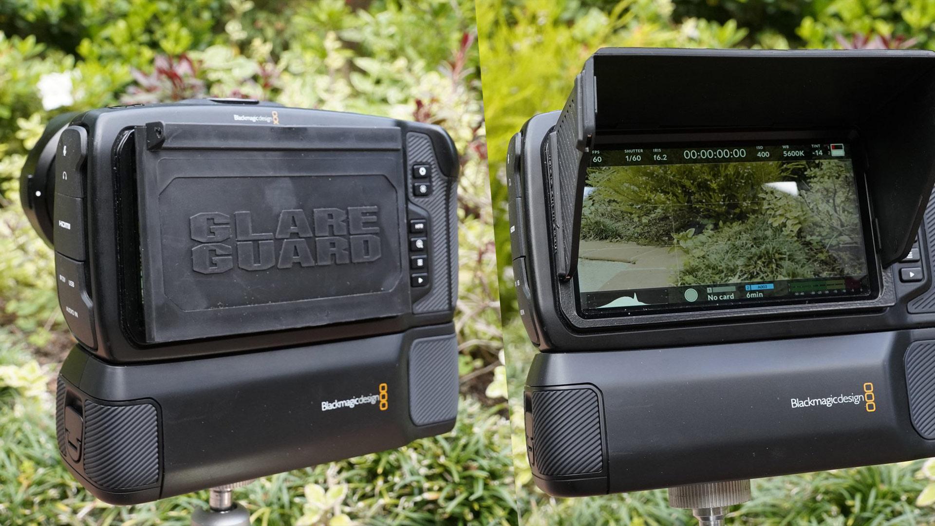 Ocean Video GlareGuard 5.0 - Parasol plegable para cámaras BMPCC 4K y 6K