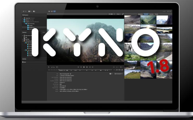 Kyno 1.8 Introduced – Blackmagic RAW plus Resolve and Avid Integration