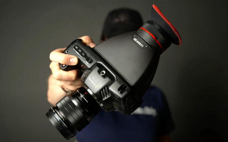 Kinotehnik LCDVF BM5 for the Pocket 4K & 6K and the LCDVF Success Story