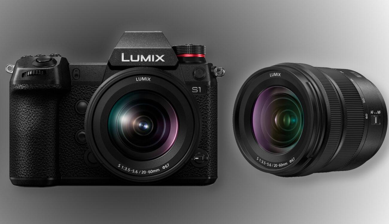 Panasonic Lumix S 20-60mm f/3.5-5.6 - New Compact L-Mount Zoom Lens
