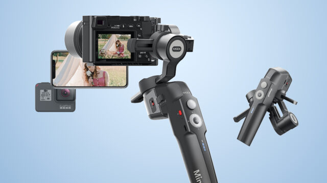 MOZA Mini-P gimbal launched