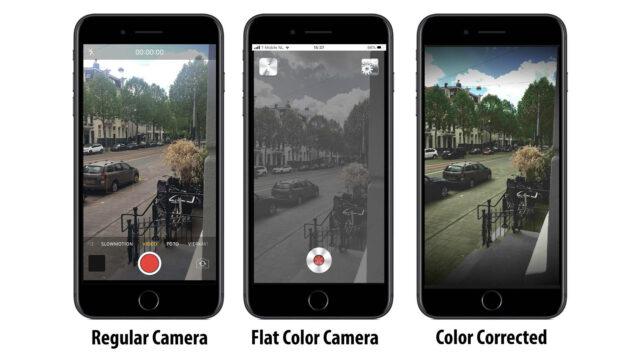 Makayama Flat Color Camera - Comparison Graphic (Credits: Makayama, Amsterdam, Netherlands)