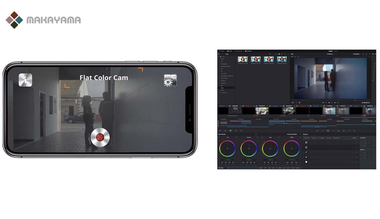 Makayama Flat Color Camera App for iPhone now Available for Purchase