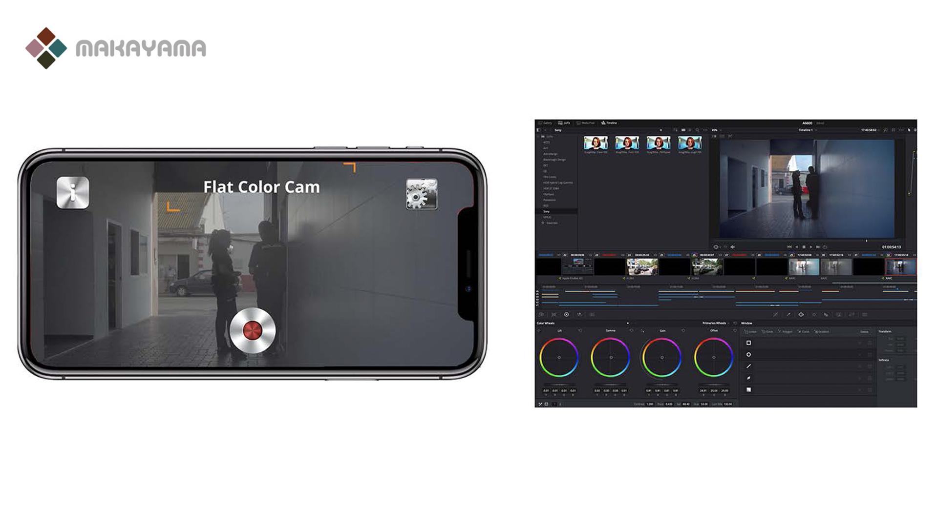 La aplicación Flat Color Camera de Makayama para iPhone ya está a la venta