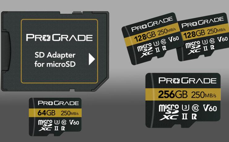 New ProGrade MicroSDXC V60 Memory Cards Introduced - Enhanced Write and Read Speeds