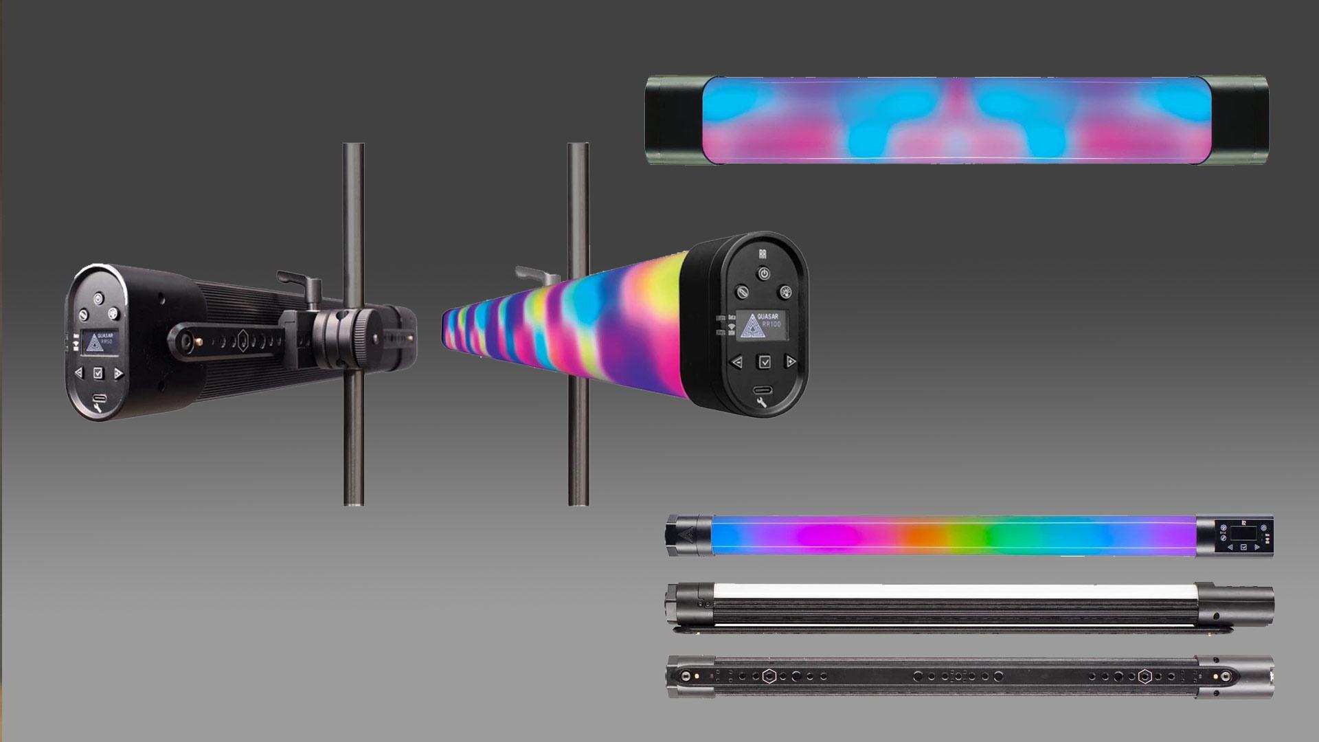 Quasar Science presentó las nuevas lámparas de tubo LED RGBX