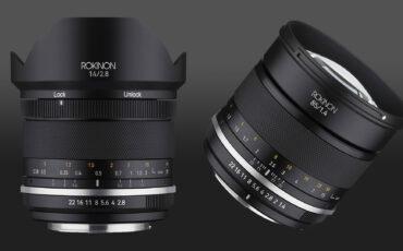 Samyang Series II - New 14mm f/2.8 and 85mm f/1.4 Manual Lenses