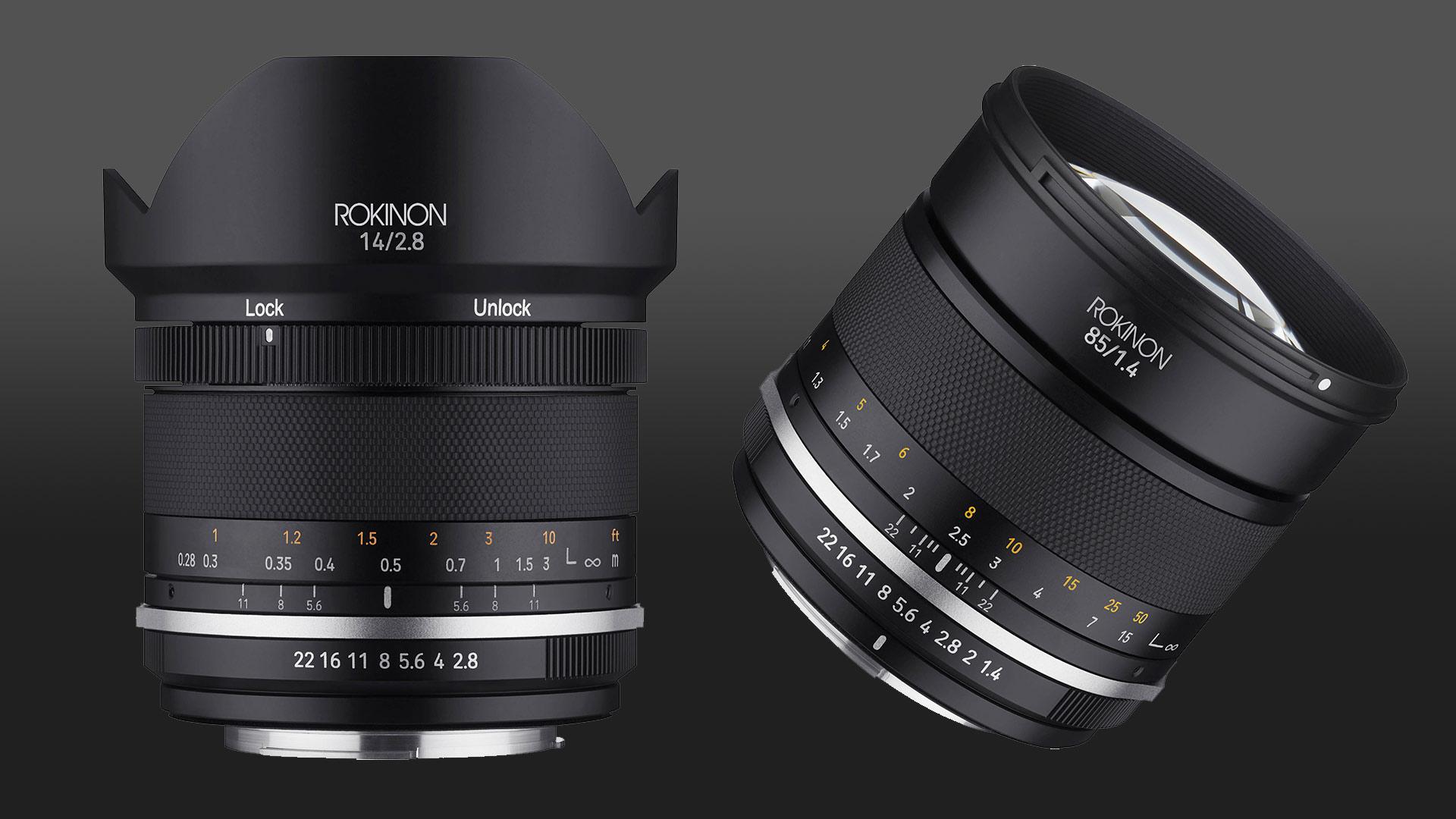 Samyang Serie II - Nuevos lentes manuales 14 mm f/2.8 y 85 mm f/1.4