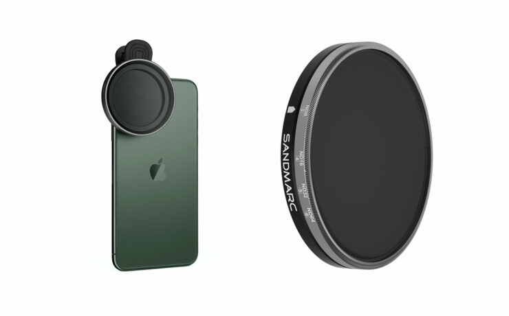 SANDMARC Motion Variable ND Filter for iPhone Launched