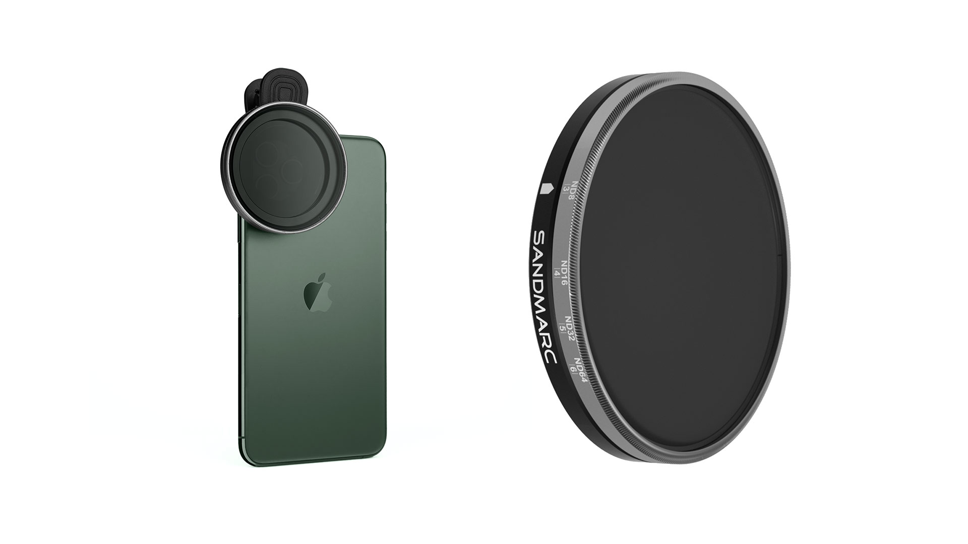 Lanzan el filtro ND Variable para iPhone SANDMARC Motion