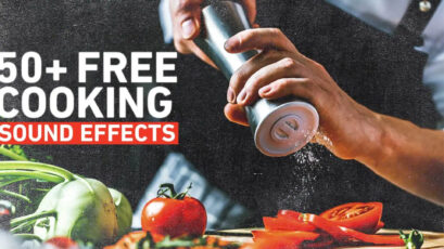 Shutterstock Giveaway: Free Cooking Sounds