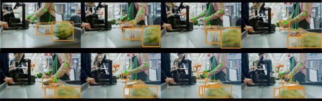 Sony IMX500 sensor at a checkout