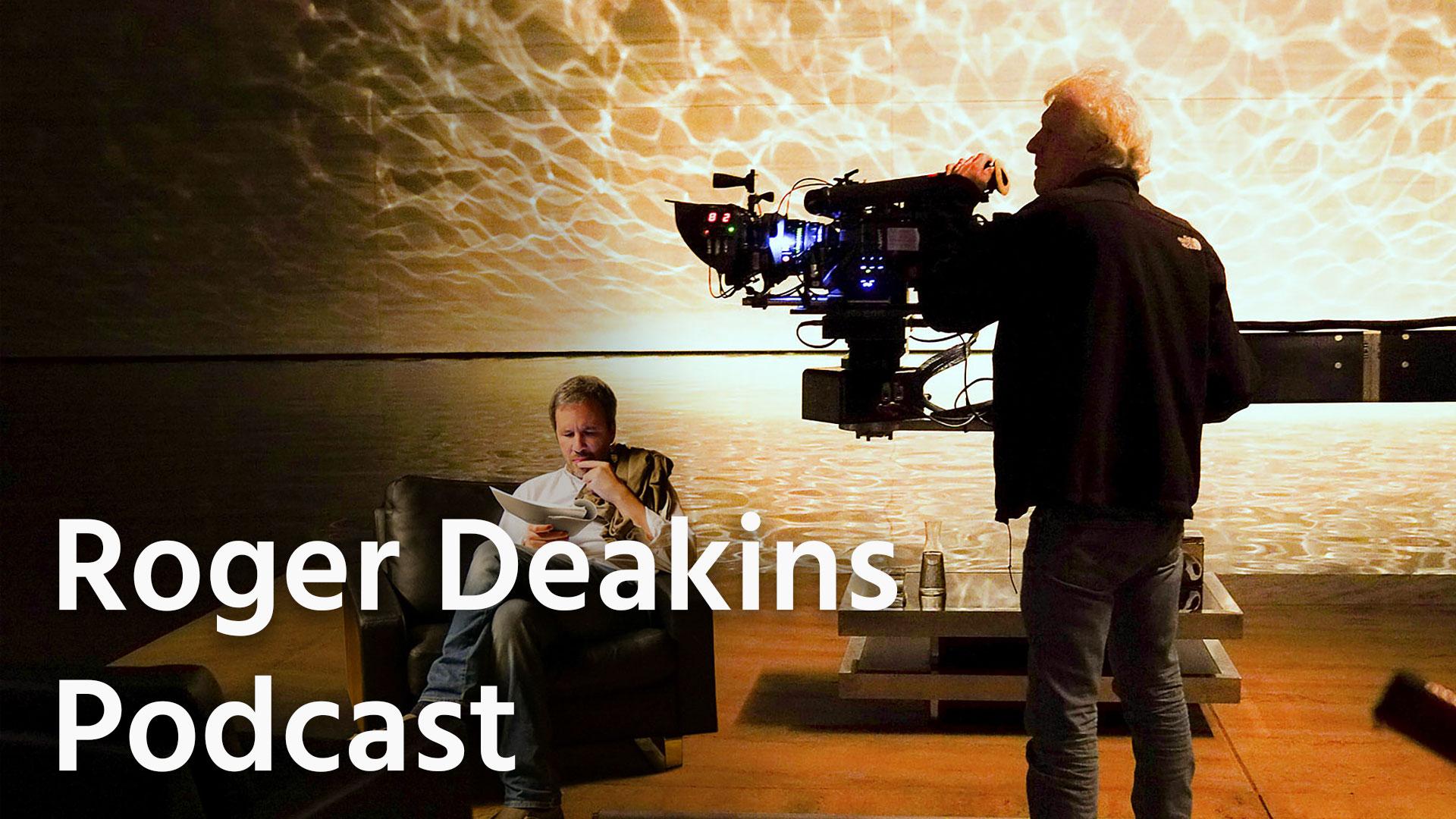 Podcast de Roger Deakins, escucha y aprende con un maestro de la cinematografía
