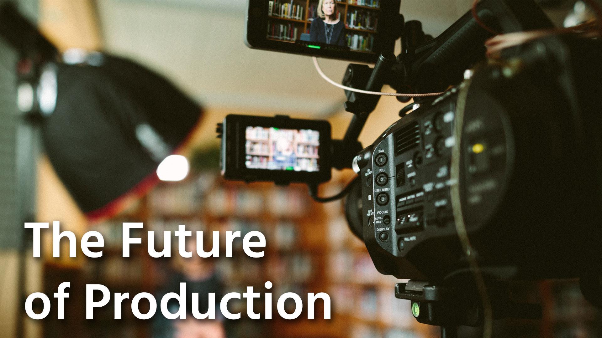 映像制作の安全な再開
