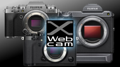 FUJIFILM  X Webcam - X and GFX Series Cameras Can Now Serve as Webcams