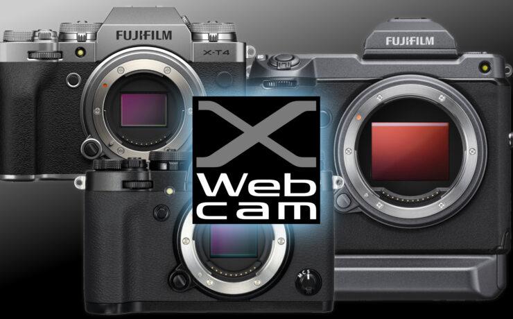FUJIFILM  X Webcam - X and GFX Series Cameras Can Now Serve as Webcams