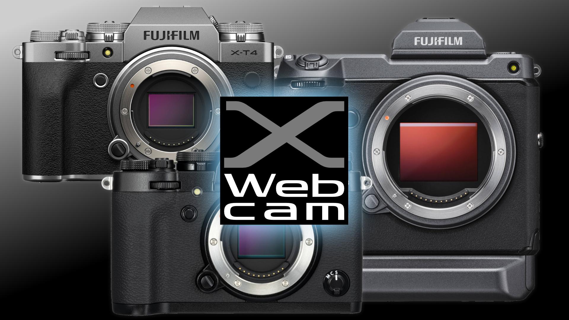 FUJIFILM X Webcam: las cámaras de las series X y GFX ahora pueden utilizarse como cámaras web