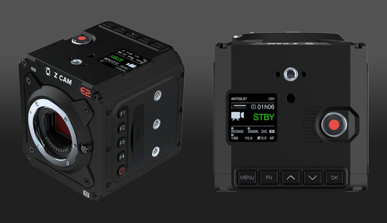 Z CAM E2-M4 Camera Announced, E2-S6 and F6 Price Drops