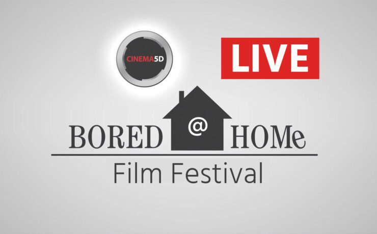 Bored @ Home Competition Winners LIVE TODAY from 11am EDT / 4pm BST / 5pm CEST