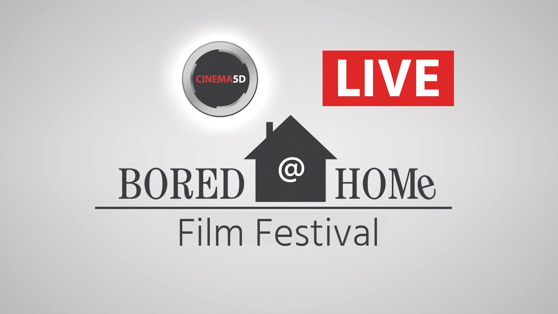 Bored @ Homeビデオコンペティションの発表を今夜ライブ配信