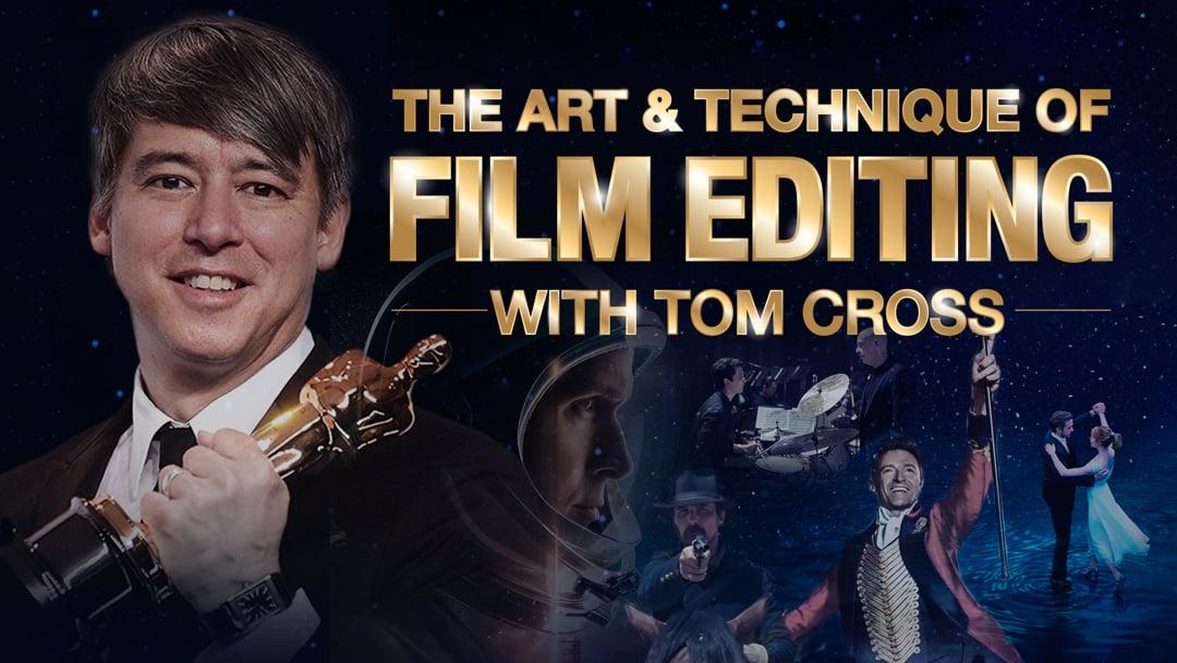 """""""El arte y la técnica de la edición cinematográfica"""" - Curso en MZed con Tom Cross (ACE) ganador del Oscar"""