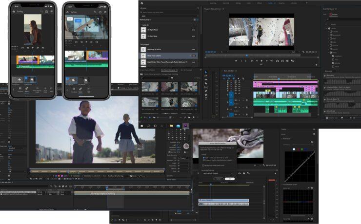 Adobe Creative Cloud Video Apps Updates - Premiere Pro Stock Audio