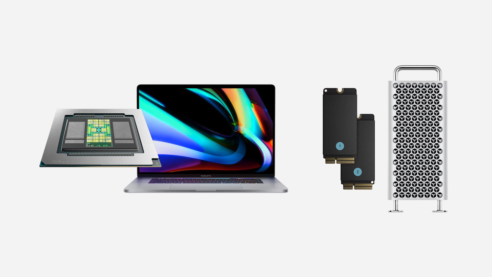 """Presentan kit de actualización SSD interno para Apple Mac Pro y opción de GPU para Macbook Pro de 16"""""""