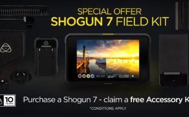 Atomos Shogun 7 Free Accessory Kit - Special Anniversary Offer