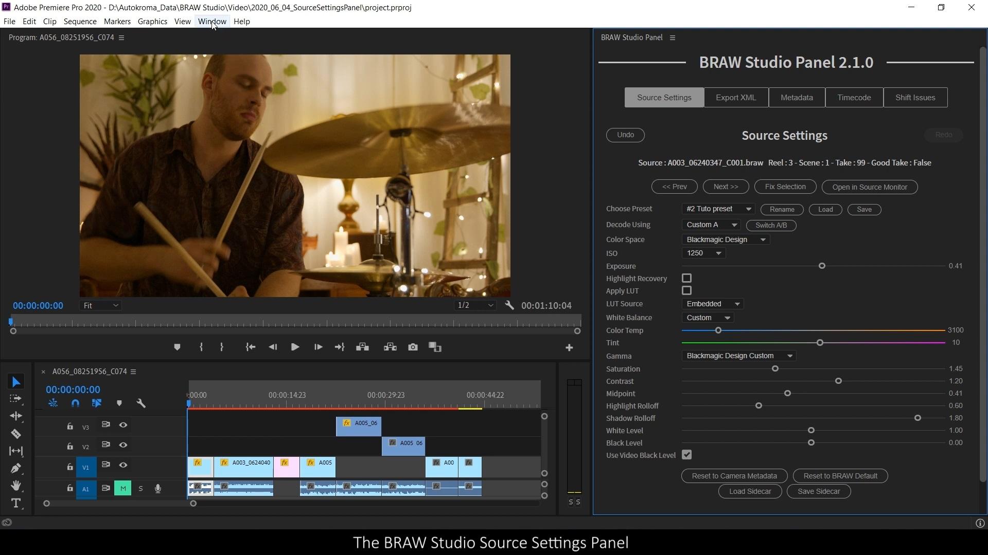 AutokromaがAdobe CC 用BRAW Studio V2をリリース - Blackmagic RAW用プラグイン