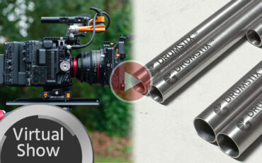 Bright Tangerine Drumstix Rods and Canon EOS C500 Mark II Left Field Cage First Look