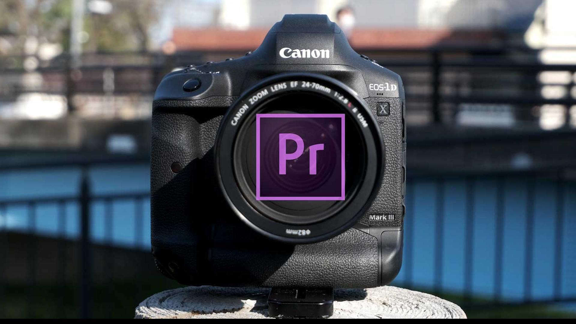 Adobe Premiere CC ahora admite los archivos RAW nativos de la Canon 1D X Mark III