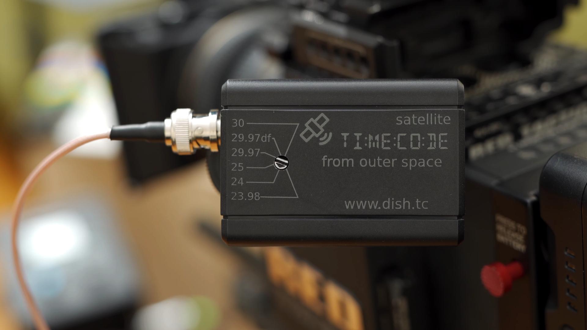 DISH.TC PRO - 衛星を利用するタイムコードジェネレーター