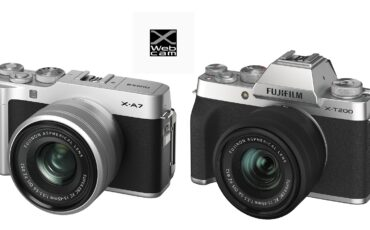 FUJIFILM X-A7 and X-T200  - Firmware Update Enables USB WEBCAM Capabilities