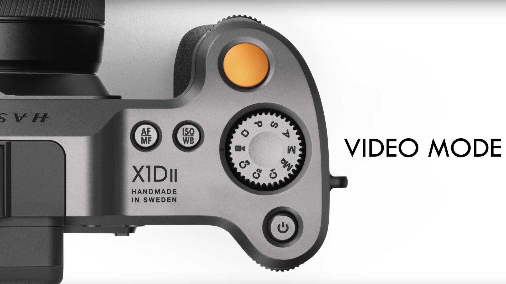 Hasselblad agregó el Modo de Video para sus cámaras de formato medio X1D II 50C y 907X