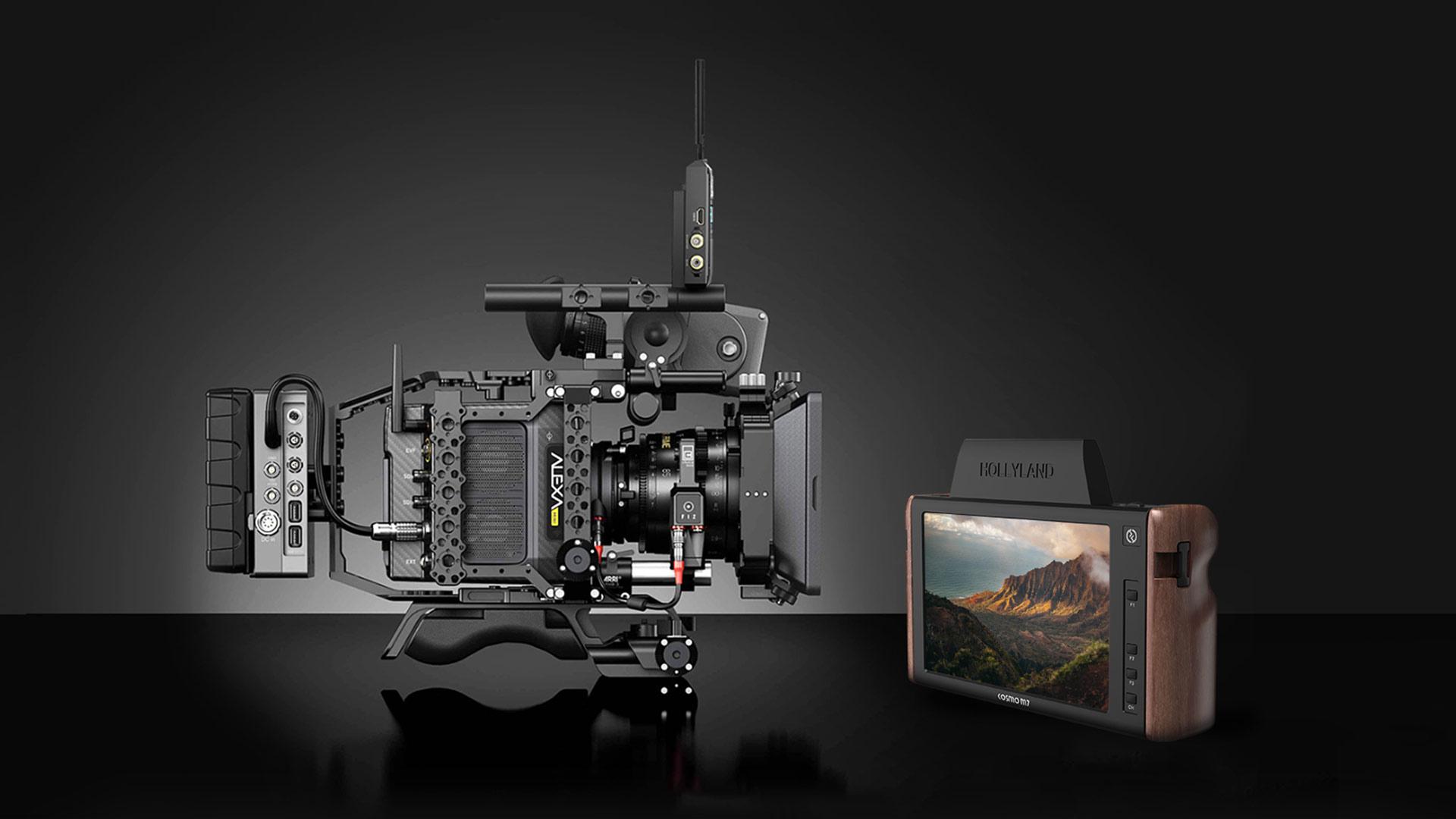 HollylandがCosmo M7 7″ワイヤレスモニターを発売