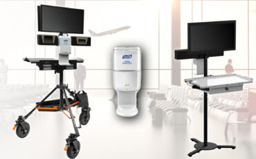 New INOVATIV AXIS Health Workstations for Post-Pandemic Sets