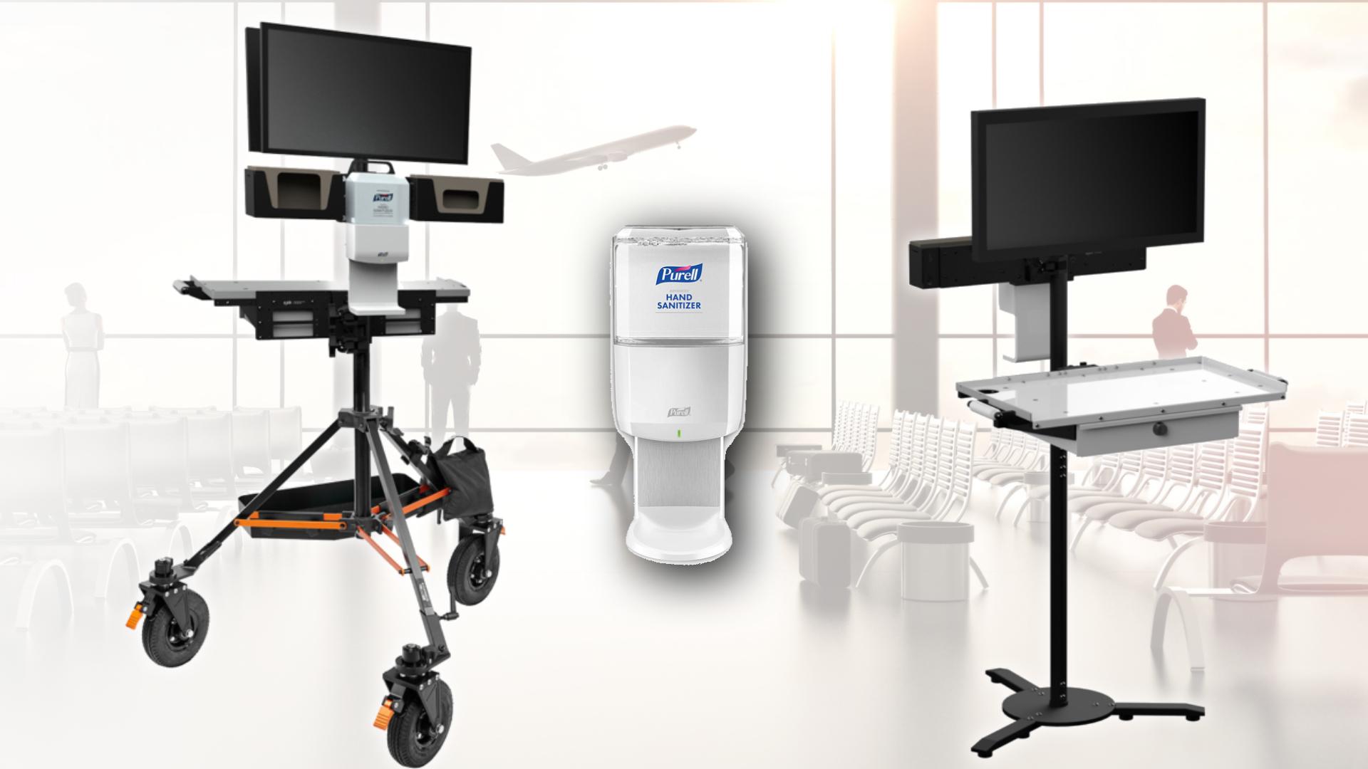 Nuevas estaciones de trabajo de INOVATIV AXIS Health para los sets post pandemia
