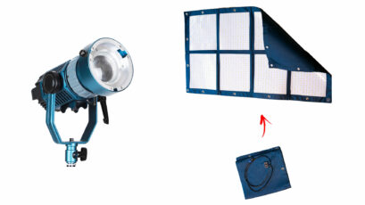 Intellytech Light Cannon X-100 and MEGA-LiteCloth LED Lights