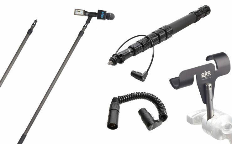 K-Tek Announces KP6 KlassicPro Traveler Boom Pole and XLR Cables