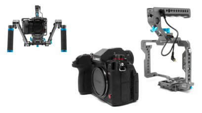 Kondor Blue Panasonic Lumix S1H Cage Announced